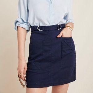 Anthropologie Mina A-Line Skirt